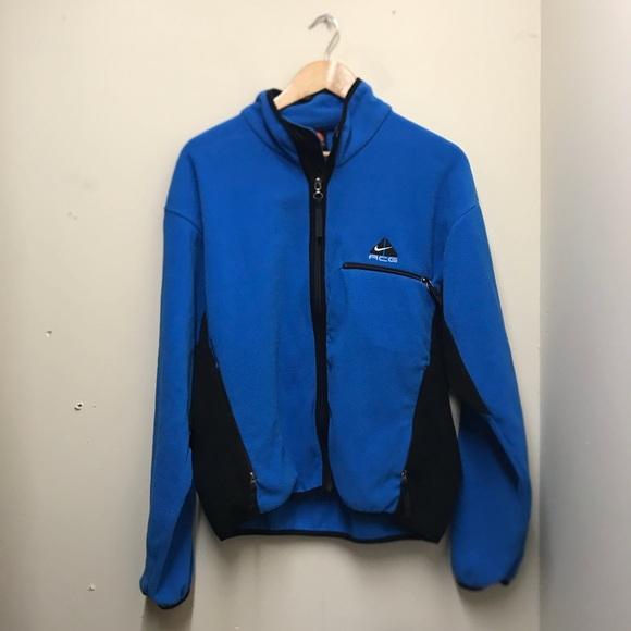 10db51ab5f7c3 Vintage Nike ACG fleece sweater zip up